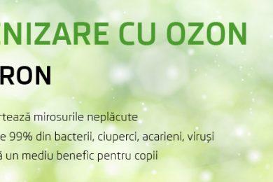 Ofertă Igienizare cu Ozon